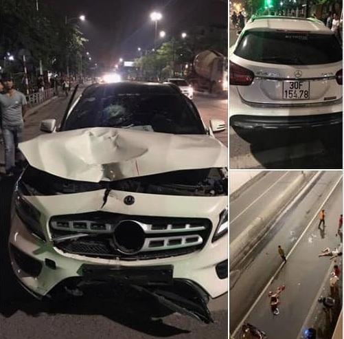 Vụ tai nạn khiến hai người phụ nữ tử vong.