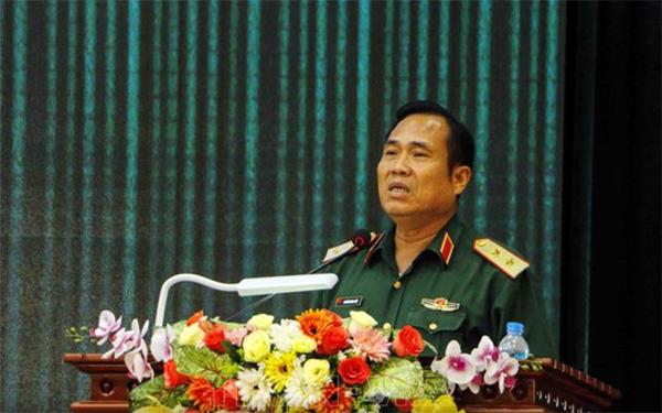 Trung tướng Nguyễn Hoàng Thùy - Tư lệnh Quân khu 9. Ảnh: TTXVN