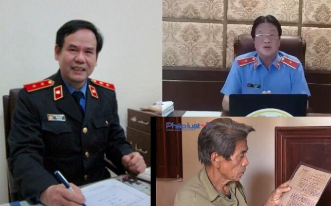 Có ý kiến chỉ đạo của lãnh đạo VKSND cấp cao đối với vụ án oan trên.