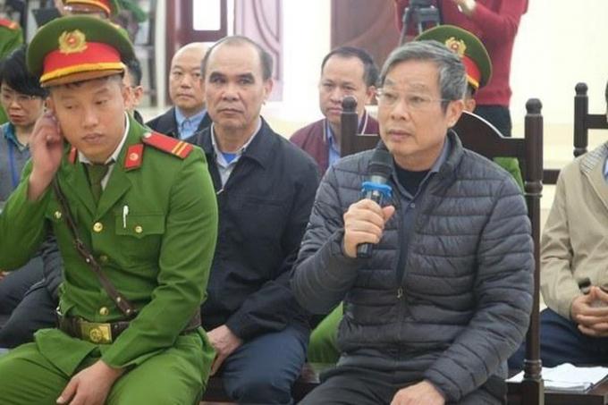 Ông Nguyễn Bắc Son kháng cáo xin giảm nhẹ hình phạt,