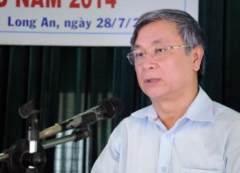 Lê Thanh Liêm - nguyên giám đốc Sở Y tế Long An.