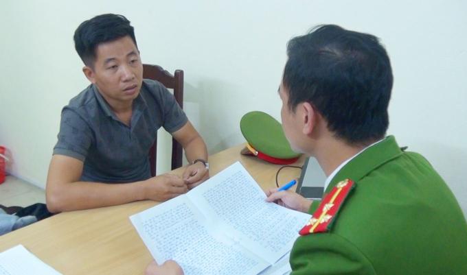 Nguyễn Châu Tuấn khai nhận tại Cơ quan điều tra