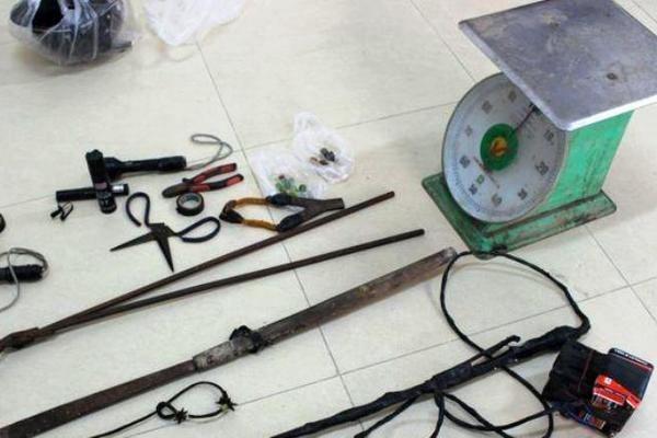 Các dụng cụ dùng để bắt trộm chó