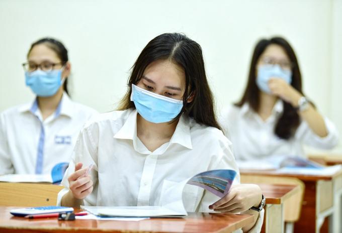Các học sinh lớp 12 tại 5 địa phương ở Nghệ An sẽ thi thử tốt nghiệp THPT bằng hình thức trực tuyến