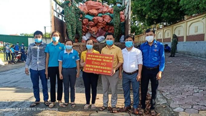 Nhân dân quê Bác cùng chung tay với thành phố mang tên Người chiến thắng dịch bệnh