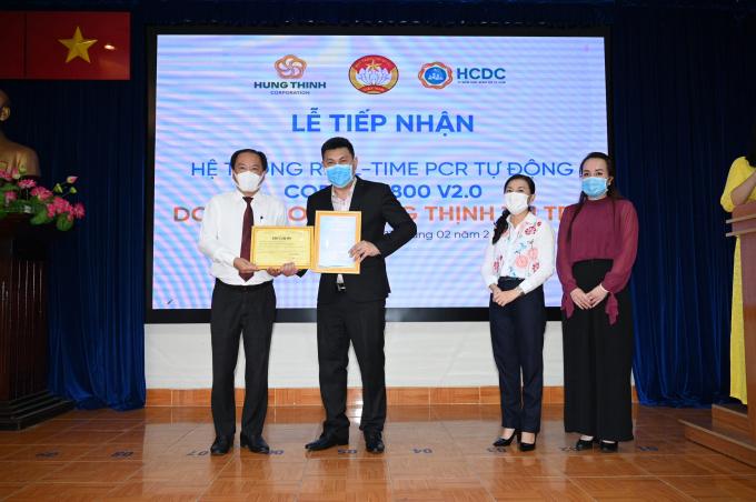 Ủy ban MTTQ Việt Nam TP HCM và Sở Y tế TP HCM gửi Thư cảm ơn trân trọng  đến Tập đoàn Hưng Thịnh vì sự đồng hành trong công tác phòng, chống dịch Covid-19