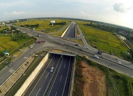 Dự ánđầu tư phát triển cơ sở hạ tầng đô thị Bắc Thăng Long - Vân Trì có tổng vốn đầu tư hơn 122 triệu USD (Ảnh minh họa).