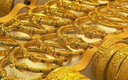 Giá vàng giảm nhẹ trong phiên giao dịch đầu tuần (Ảnh minh họa)