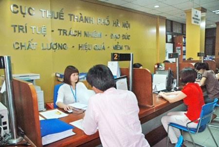 Cục thuế TP Hà Nội điểm mặt 139 doanh nghiệp nợ thuế để đốc thu ngân sách.