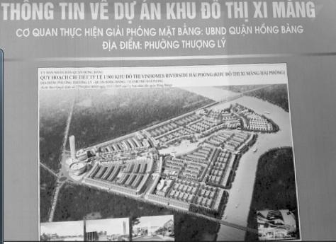 Quy hoạch chi tiết Khu đô thị Xi Măng.