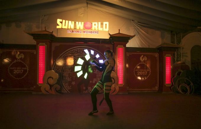 Đến Sun World Danang Wonders xem biểu diễn nghệ thuật châu Âu