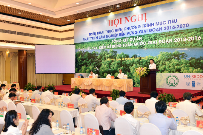 """""""Cần tạo điều kiện cho mọi thành phần kinh tế xã hội đầu tư, xây dựng, bảo vệ rừng thông qua việc giao, cho thuê rừng cho tổ chức, cộng đồng dân cư thôn, hộ gia đình, cá nhân"""", Phó Thủ tướng nói."""