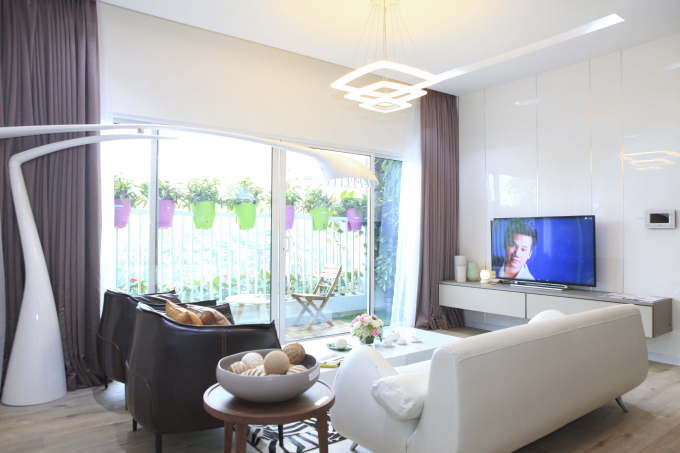 Hơn 10 căn hộ cuối cùng của dự án EcoLife Capitol có thiết kế rộng rãi, thoáng đãng để tối đa không gian thiên nhiên trong từng phòng.