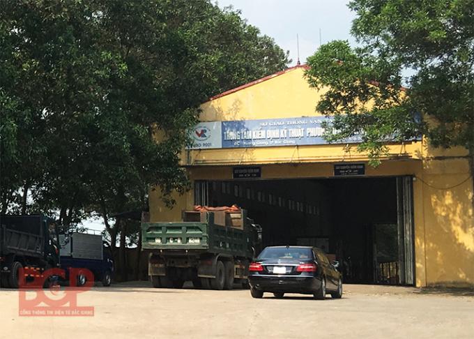 Trung tâm kiểm định kỹ thuật phương tiện, thiết bị giao thông cơ giới Bắc Giang(Ảnh: BGP/Dương Thủy - Nguồn cổng thông tin điện tử tỉnh Bắc Giang).