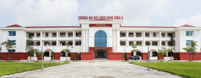 Trụ sở trường Đại học Công nghệ Đông Á - Ảnh được lấy từ websitehttps://eaut.edu.vn.