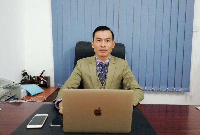 Luật sư Vi Văn Diện - Giám đốc Công ty Luật TNHH Thiên Minh.