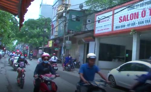 Khu vực đường Lương Thế Vinh thuộc tổ dân phố số 1, phường Mễ Trì, quận Nam Từ Liêm, TP Hà Nội.