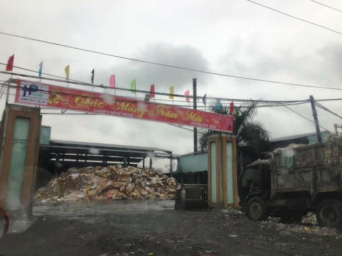 Công ty Hùng Phát bị xử phạt về vi phạm PCCC.
