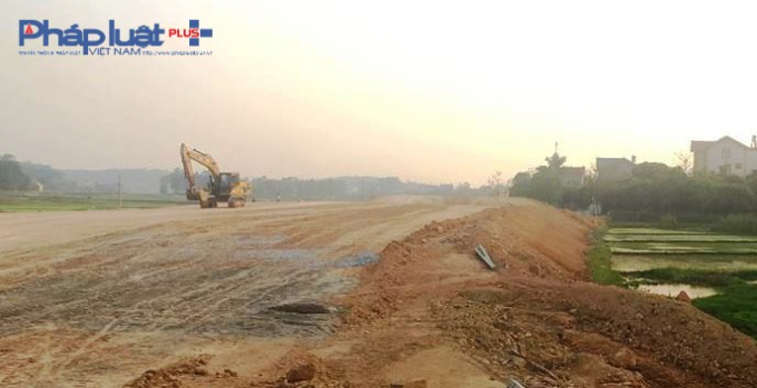 Đường cao tốc BOT Bắc Giang - Lạng Sơn đang trong quá trình triển khai.