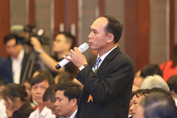 Nông dân Tăng Xuân Trường.