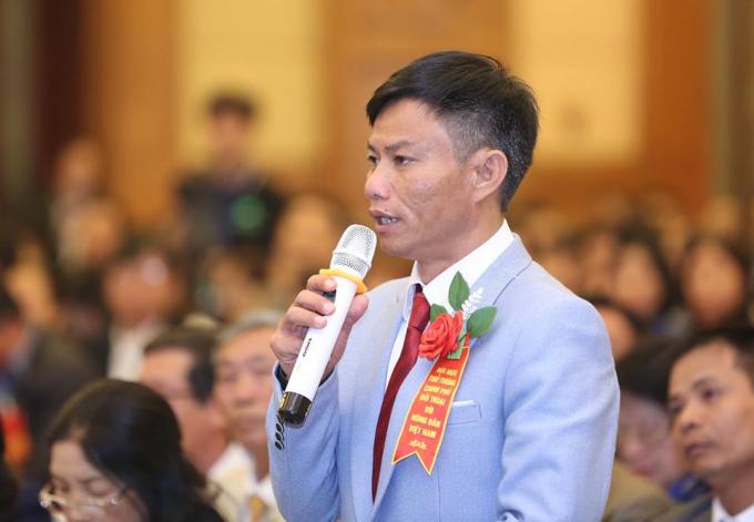Ông Nguyễn Công Thừa đến từ Đà Lạt.