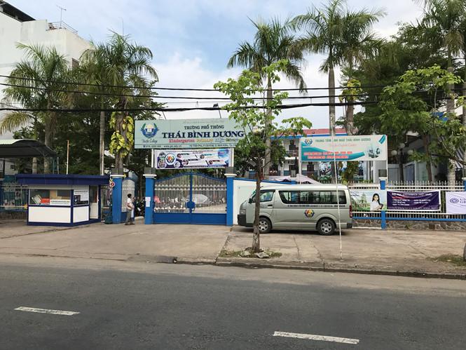 Trường phổ thông Thái Bình Dương bị rao bán. (Ảnh Đình Tuyến).