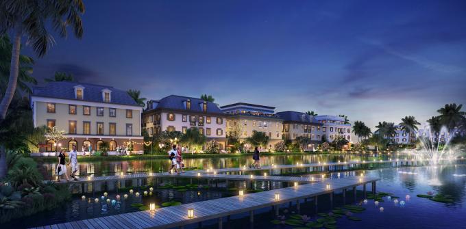 Khu Boutique Shophouse nằm ở vị trí trung tâp dự án Sun Premier Village Ha Long Bay.