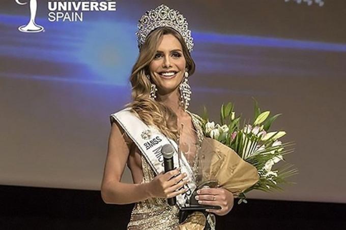 Ángela Ponce, người đẹp chuyển giới đang đứng đầu bình chọn tại Miss Universe 2018.
