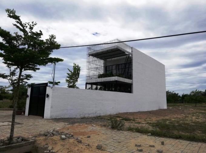 Trong số các lô đất bán ra tại Dự án Vision City, nhiều người mua đã xây nhà để ở.