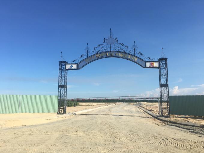 Dự án KĐT Hera Complex Riverside, đổi tên từ KĐT Peaceful Land (quy mô khoảng 18,7ha) chưa được bàn giao đất nhưng đã được rao bán rầm rộ.