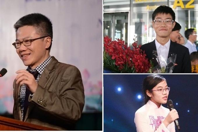 GS Ngô Bảo Châu và nhiều học sinh từng đoạt huy chương vàng Olympic hiện đang học tập, làm việc ở nước ngoài.