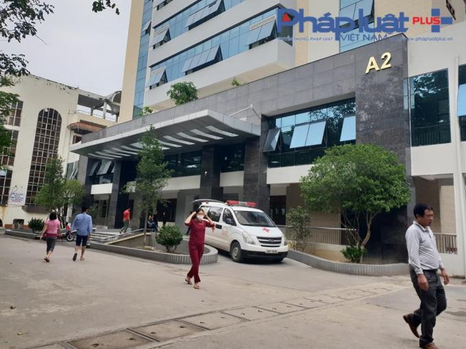 Nhà A2 - BV Đa khoa tỉnh Bắc Giang.