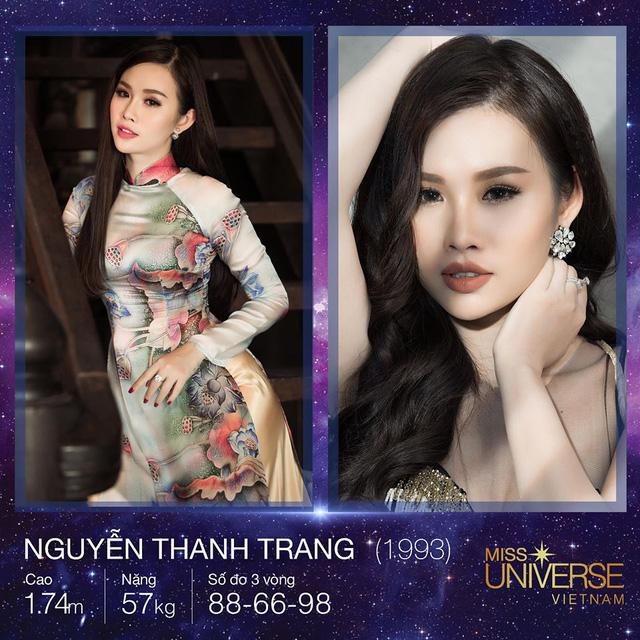 Nguyễn Thị Thanh Trang là một trong những gương mặt ấn tượng của TP HCM tại cuộc thi năm nay.