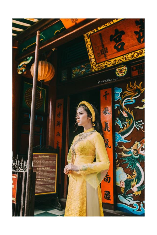 Cô có chiều cao 1m71 và số đo lần lượt là 86-62-90, hứa hẹn sẽ giúp vùng đất Đà Nẵng thêm một lần tỏa sáng tại Hoa hậu Hoàn vũ Việt Nam.