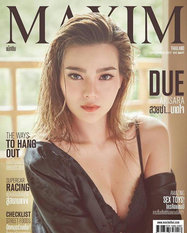 Mới đây, bông hồng lại Thái Lan - Anh lại tiếp tục được Maxim