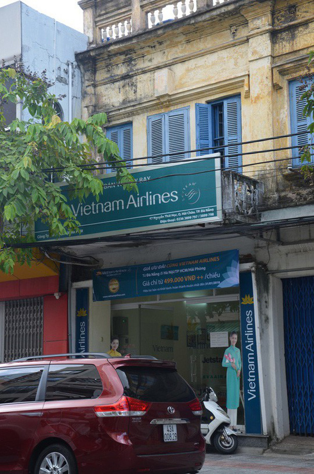 Nhà 47 Nguyễn Thái Học được công ty của Vũ