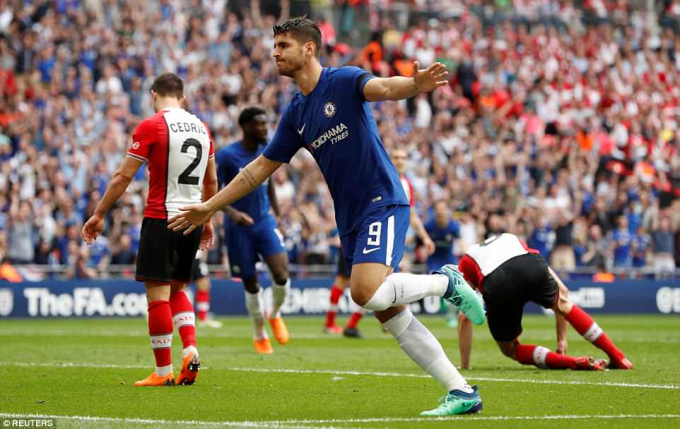 Chelsea đã đánh bại Southampton với tỉ số 2-0. (Ảnh: Reuters)