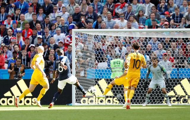 Đội tuyển Pháp đã có 1 chiến thắng nhọc nhằn trước đội tuyển Australia. (Ảnh: Reuters)