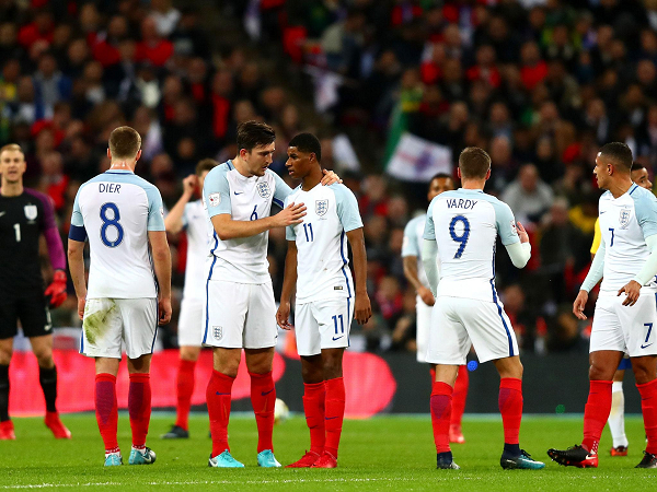 Đội tuyển Anh có cơ hội giành 3 điểm ở trận ra quân khi phải đụng độ với đội bóng được đánh giá thấp hơn.(Ảnh: Getty Images)
