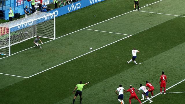 Kane có cú hat-trick trong trận đấu này. (Ảnh: Reuters)