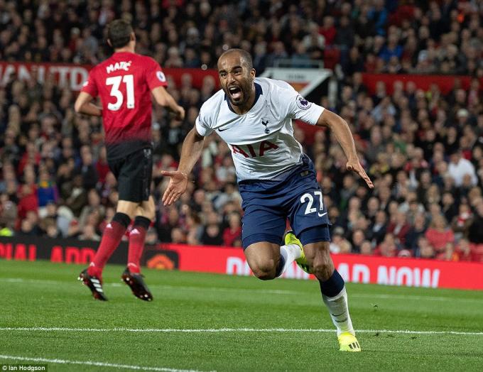 Tottenham có chiến thắng ngay trên sân nhà Man UTD. (Ảnh: Ia Hodgson)
