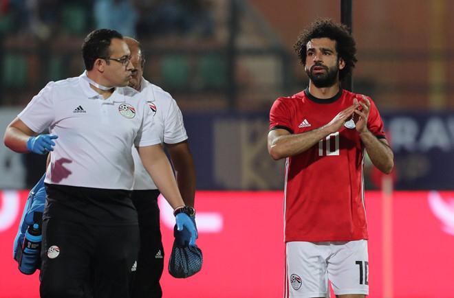 Salah đã lập một siêu phẩm trong trận đấu. (Ảnh:Getty Images).