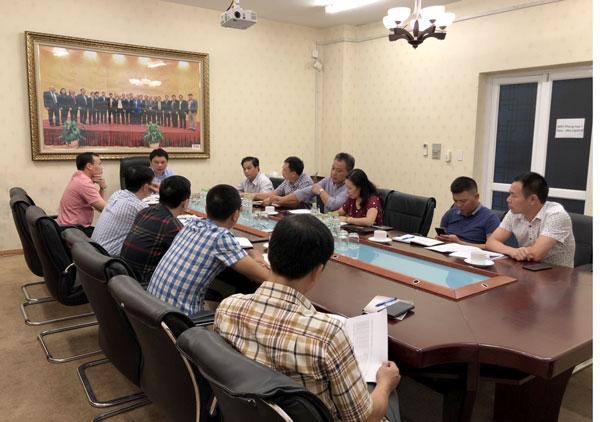 Cuộc họp chiều ngày 14/11. (Ảnh: VFF)