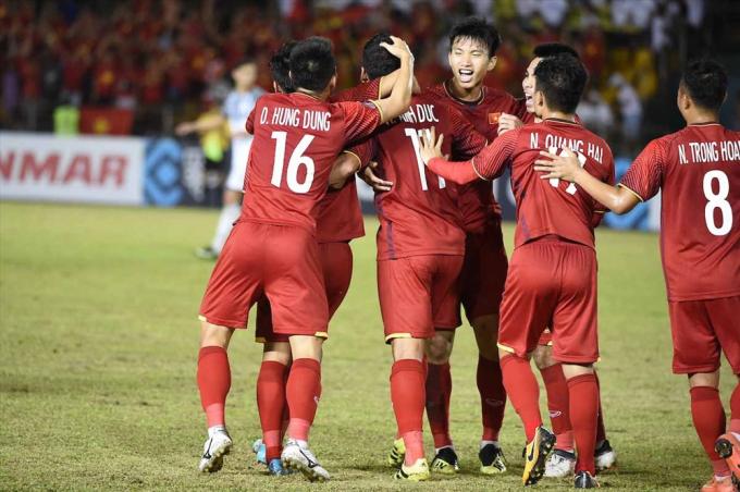 Đội tuyển Việt Nam đã có một trận đấu xuất sắc. (Ảnh: VFF)