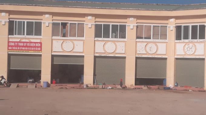 Trụ sở của Công ty TNHH Uy Vũ Điện Biên đóng trong khu vực cửa khẩu Tây Trang.