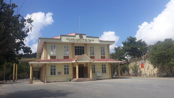 Cửa khẩu quốc tế Tây Trang có vị trí địa lý đặc biệt quan trọng trong công tác an ninh quốc phòng, là nơi kiểm soát lưu thông hàng hóa sang Lào và các quốc gia khác.