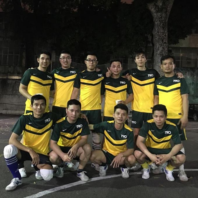 Đội hình của nhà đương kim vô địch Liên quân đơn vị BBTN, cục ĐKQGGDBĐ không thay đổi so với mùa giải trước.