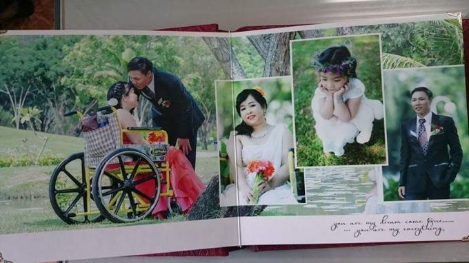 Những bức hình mang yêu thương, gửi niềm vui tới các cặp đôi khuyết tật. Album: Nhóm Ngô Long(thực hiện)