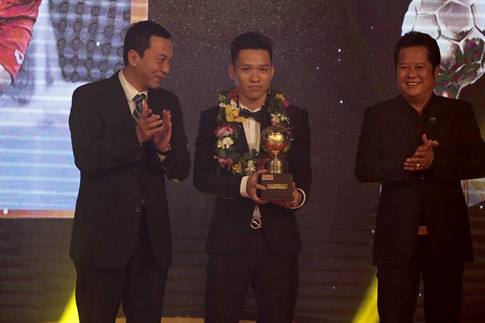 Trần Văn Vũ - Quả bóng vàng Fustsal 2016.