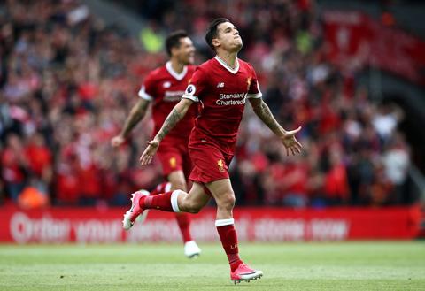 Coutinho lập công giúp Liverpool giành vé dự Champions League mùa tới